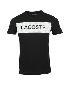 Lacoste Sport Mens Black TH4865 T-Shirt