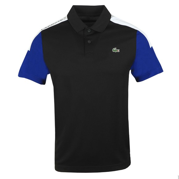Lacoste Sport Mens Black DH4864 Polo Shirt main image
