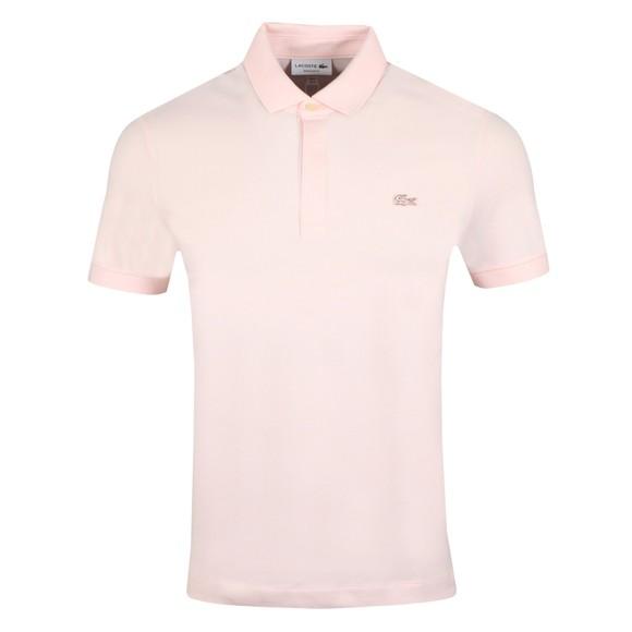 Lacoste Mens Pink PH5522 Paris Polo Shirt