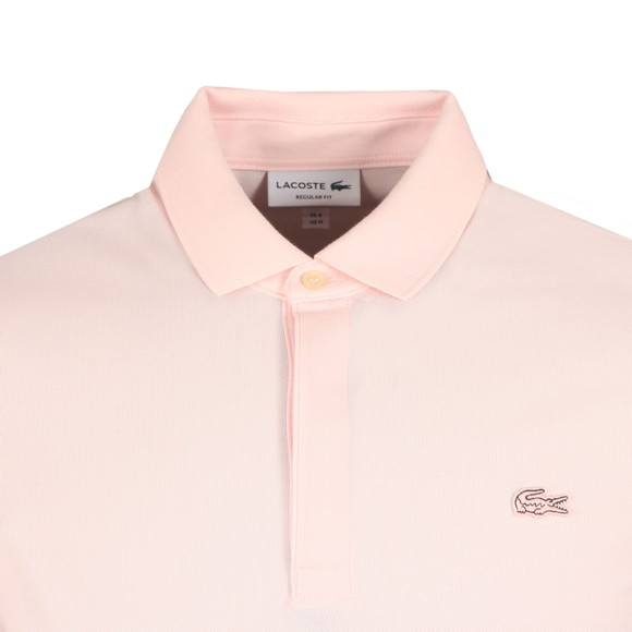 Lacoste Mens Pink PH5522 Paris Polo Shirt
