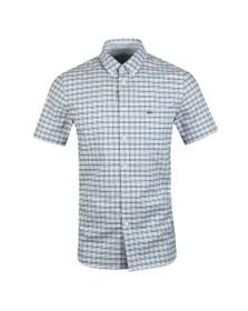 Lacoste Mens Blue S/S CH6945 Shirt