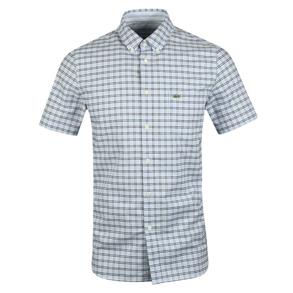 Lacoste Mens Blue S/S CH6945 Shirt main image