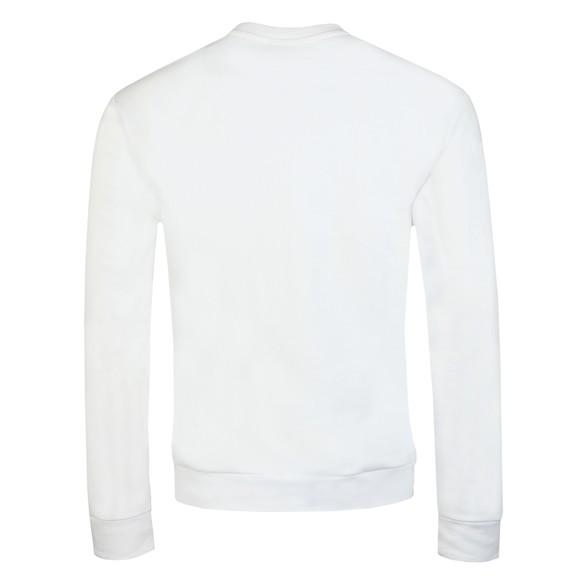 Emporio Armani Mens White Large EA Logo Sweatshirt main image