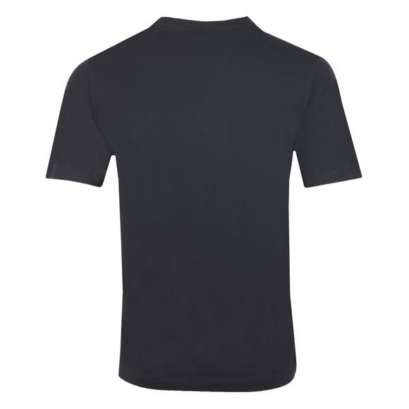 Emporio Armani Mens Blue Bold Emporio Logo T Shirt main image