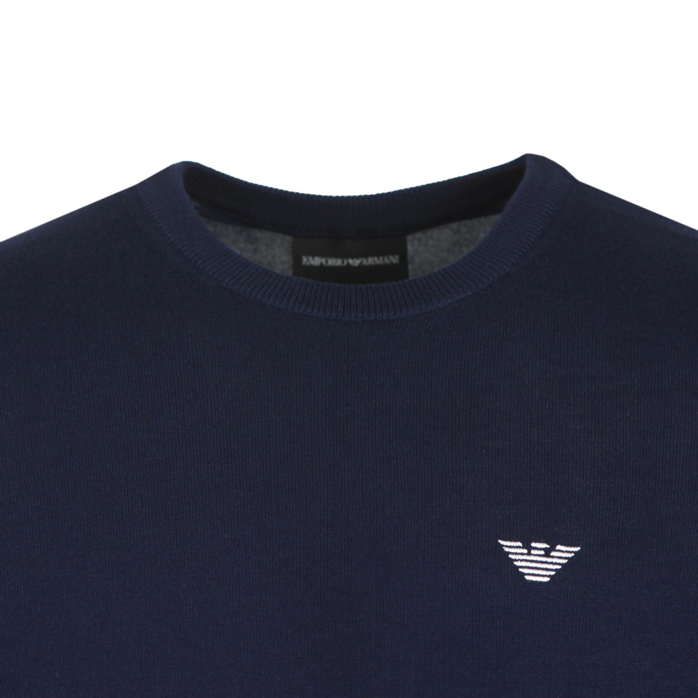 Embroidered Eagle Logo Jumper main image
