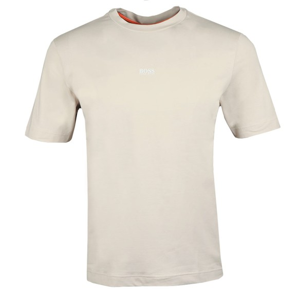 BOSS Mens Beige Casual TChup T-Shirt