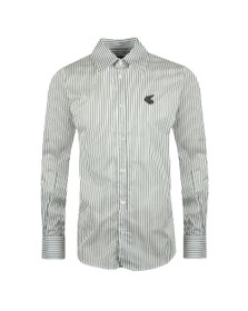 Vivienne Westwood Anglomania Mens White New Lars Long Sleeve Shirt