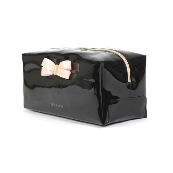 Ted Baker Womens Black Fibee Bow Detail Washbag main image