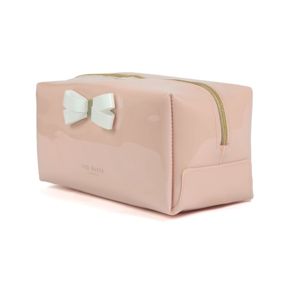 Ted Baker Womens Pink Fibee Bow Detail Washbag main image