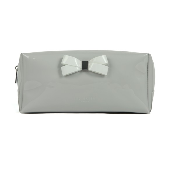 Ted Baker Womens Grey Fibee Bow Detail Washbag