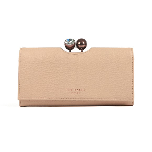 Ted Baker Womens Beige Solange Crystal Bobble Purse