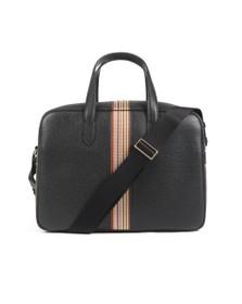 PS Paul Smith Mens Black Multi Stripe Bag