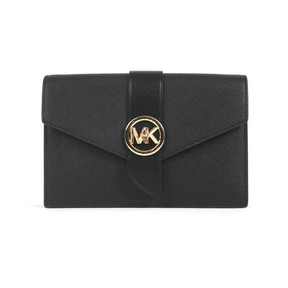 Michael Kors Womens Black Charm Small Hand Bag
