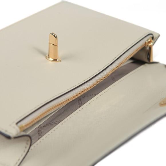 Michael Kors Womens Beige Charm Small Hand Bag main image