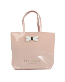 Ted Baker Womens Pink Gabycon Bow Detail Large Icon Bag
