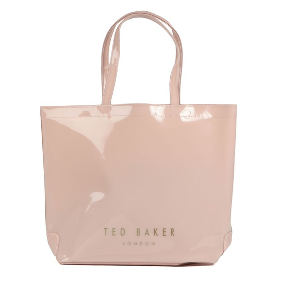 Ted Baker Womens Pink Gabycon Bow Detail Large Icon Bag main image