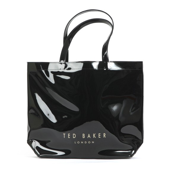 Ted Baker Womens Black Gabycon Bow Detail Large Icon Bag main image