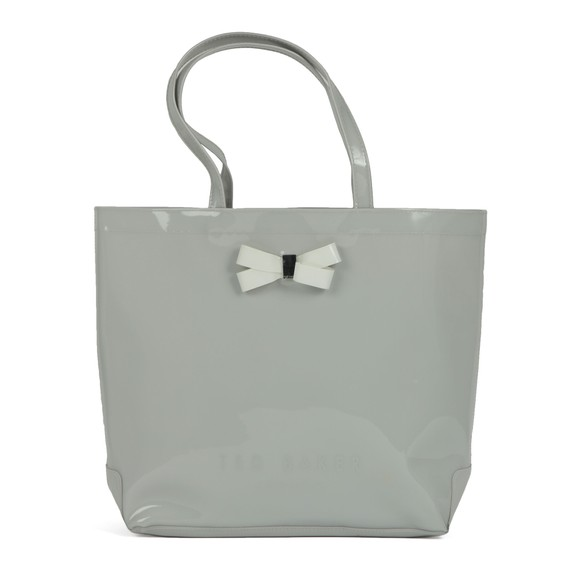 Ted Baker Womens Grey Gabycon Bow Detail Large Icon Bag main image