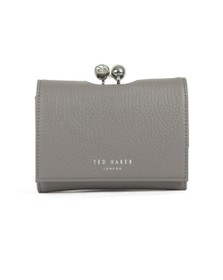 Ted Baker Womens Grey Suri Twisted Crystal Mini Bobble Purse