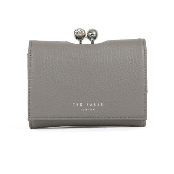 Ted Baker Womens Grey Suri Twisted Crystal Mini Bobble Purse main image