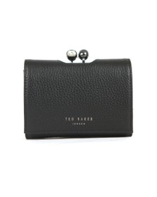 Ted Baker Womens Black Suri Twisted Crystal Mini Bobble Purse
