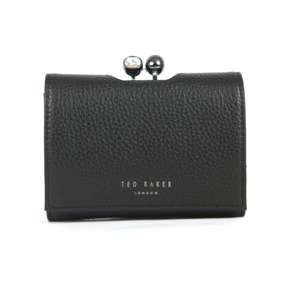 Ted Baker Womens Black Suri Twisted Crystal Mini Bobble Purse main image