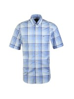 Check Button Down Short Sleeve Shirt