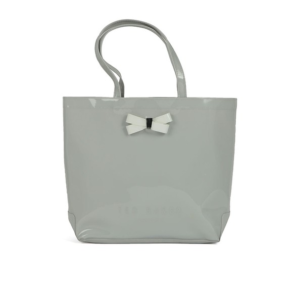 Ted Baker Womens Grey Geeocon Bow Detail Small Icon Bag