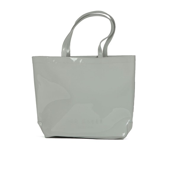 Ted Baker Womens Grey Geeocon Bow Detail Small Icon Bag main image