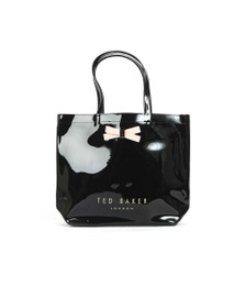 Ted Baker Womens Black Geeocon Bow Detail Small Icon Bag
