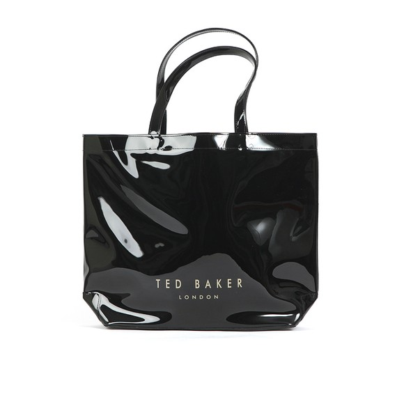 Ted Baker Womens Black Geeocon Bow Detail Small Icon Bag main image