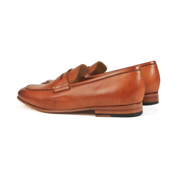 Barker Mens Brown Ledley Grain Leather Loafer main image