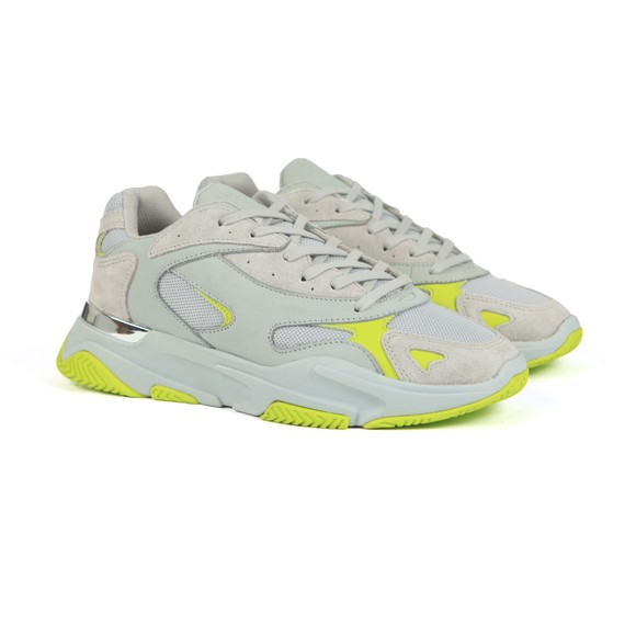 Mallet Mens Grey Lurus Trainer