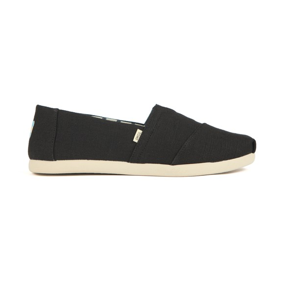 Toms Mens Black Heritage Canvas main image