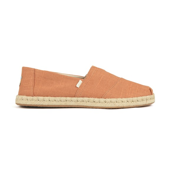 Toms Mens Off-White Toms Linen Classic Slip On