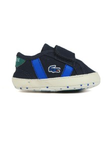 Lacoste Boys Blue Sideline Crib 120 Shoe
