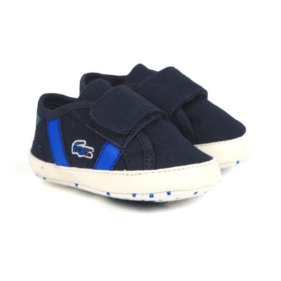 Lacoste Boys Blue Sideline Crib 120 Shoe main image