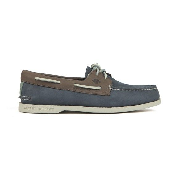 Sperry Mens Blue Plushwave Boat Shoe