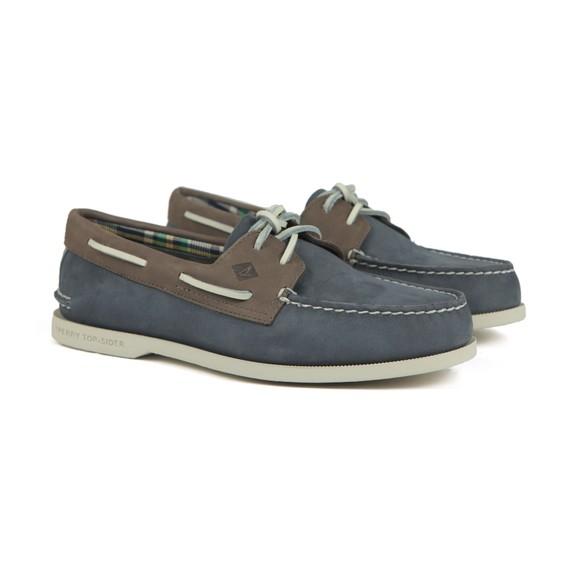 Sperry Mens Blue Plushwave Boat Shoe