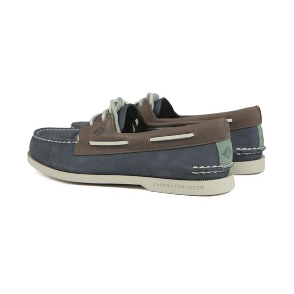 Sperry Mens Blue Plushwave Boat Shoe main image