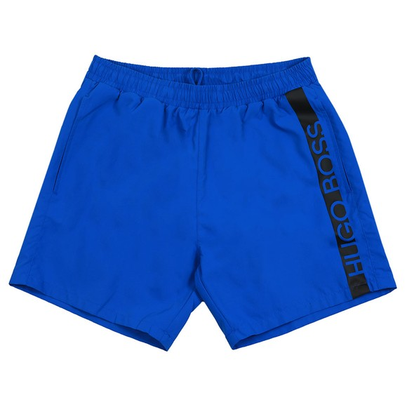 BOSS Bodywear Mens Blue Dolphin Swim Shorts