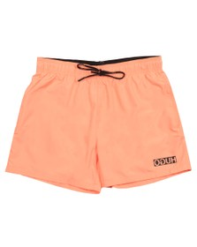 HUGO Mens Pink Haiti Swim Short