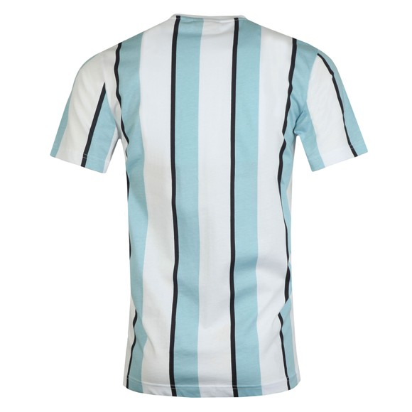 Nicce Mens Blue Stripe T-Shirt main image