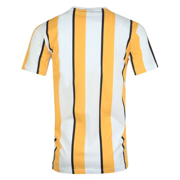 Nicce Mens Yellow Stripe T-Shirt main image