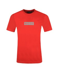 Nicce Mens Red Base T-Shirt