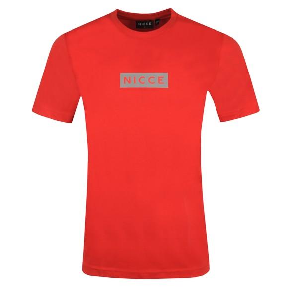 Nicce Mens Red Base T-Shirt main image