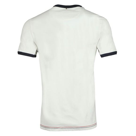 Pretty Green Mens White Likeminded Print T-Shirt main image