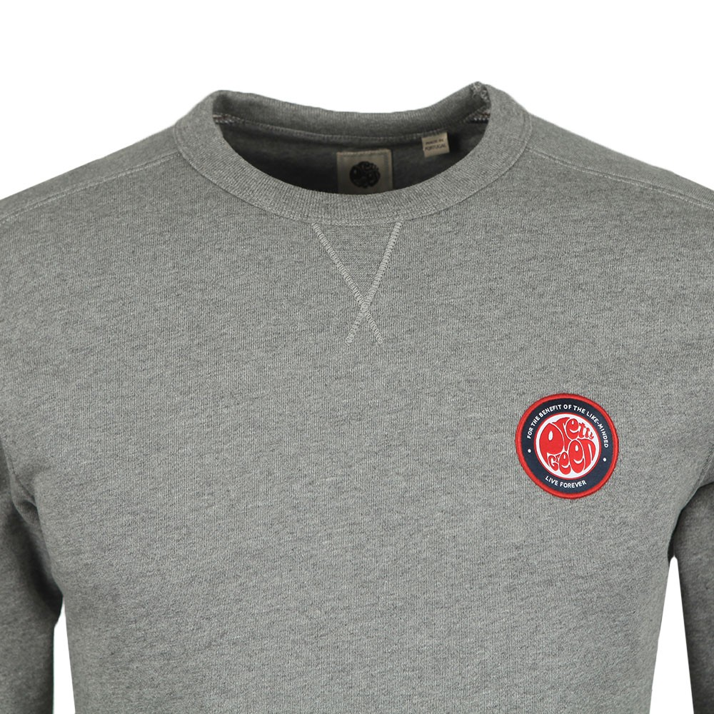Likeminded Chest Badge Sweatshirt main image