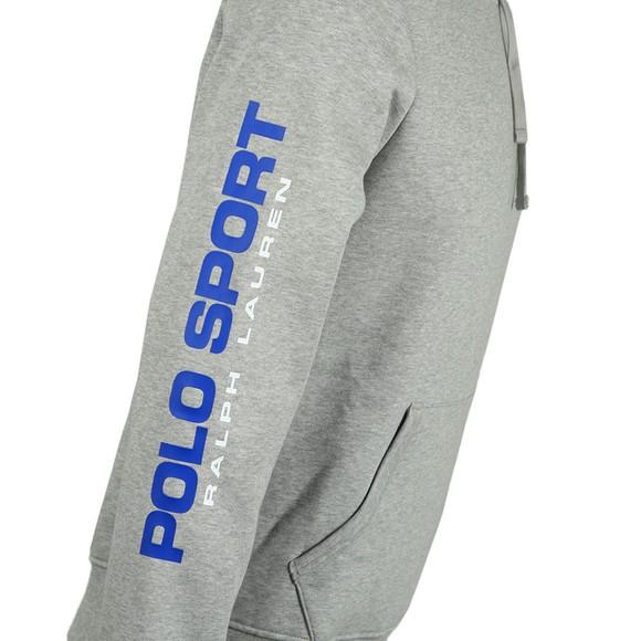 Polo Sport Ralph Lauren Mens Grey Logo Overhead Hoody