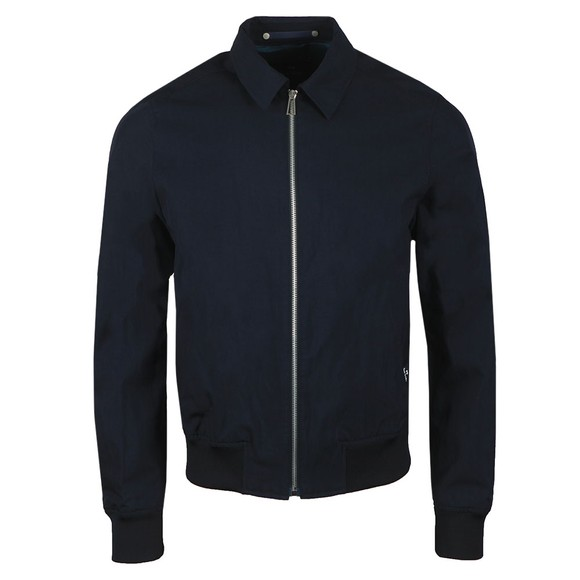 PS Paul Smith Mens Blue Collared Bomber